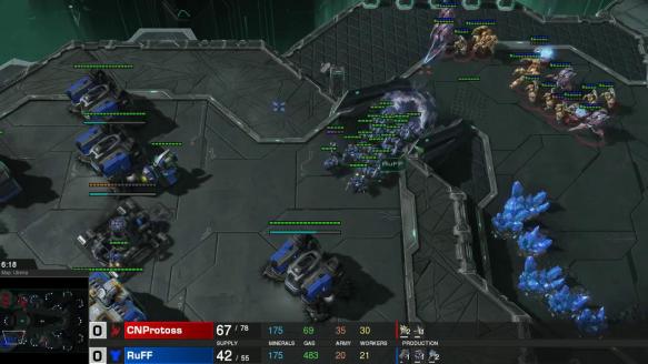 FINALS RuFF vs CNProtoss (Game 1) (Part 2)