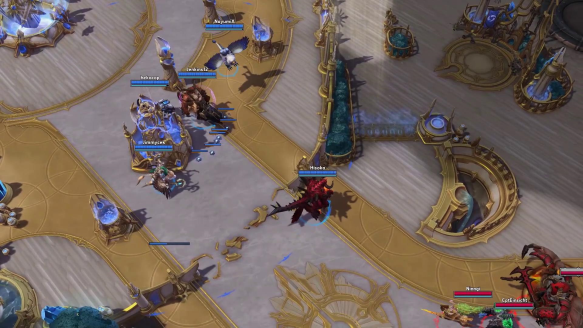 Falstad wins the fight with a flick of his wings