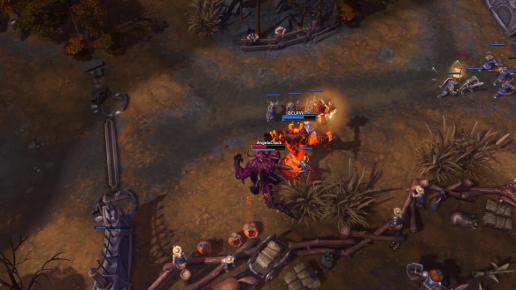Ragnaros.. Right in the middle of a dance!