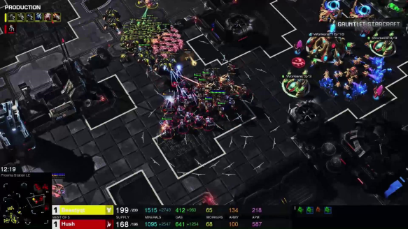 PSISTORM Tournament - BeastyQT VS Hush Game 3 Go4SC2