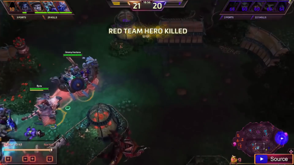 Heroes Of The Storm - Mega Kill Moments Episode 1