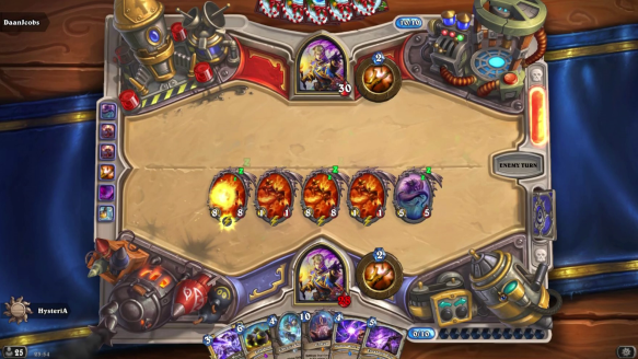 4 Ragnaros in One Turn!