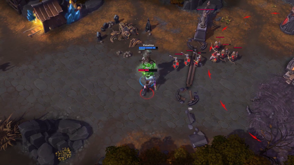 How to deal with giant fireballs as Thrall