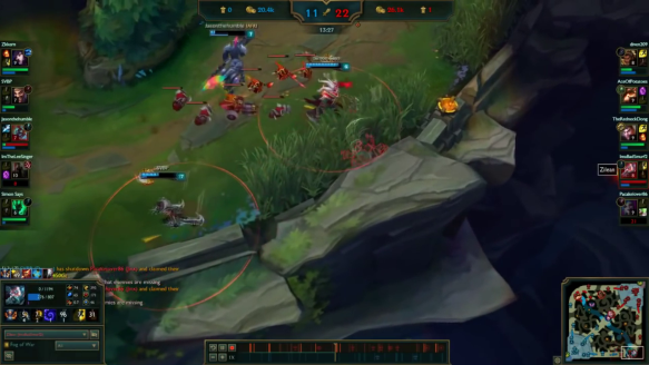 Zilean 1v3 Hilarious Outplay