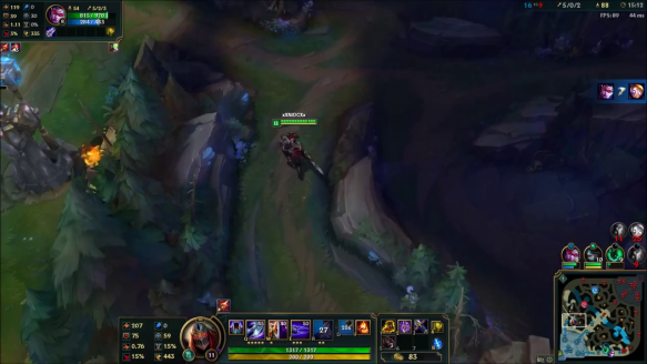 Zed Outplaying Riven