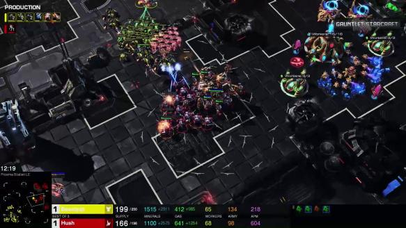 PSISTORM Gauntlet Tournament Highlight - BeastyQT VS Hush Game 3 Go4SC2