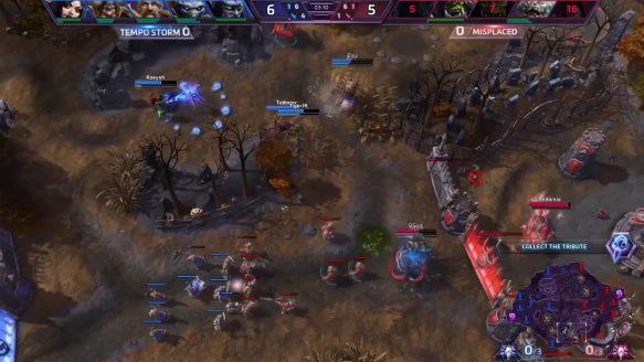 ESL HotS Summer 2016 NA Qualifier No. 3, Round of 32 – Tempo Storm vs. Misplaced Ults – Highlight Reel