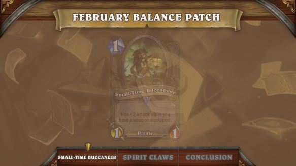 February Balance Patch Preview