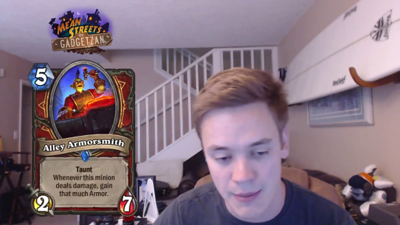 Reynad Reveals Alley Armorsmith From The Mean Streets of Gadgetzan