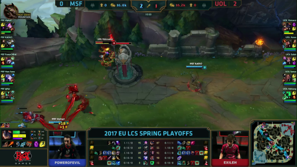 UOL vs MSF Highlights Game 3 LCS Spring Playoffs 2017 Unicorns of Love vs Misfits