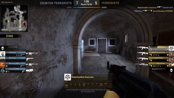 Canals Ace - 1 vs. 3(4) Clutch - by Csomotor