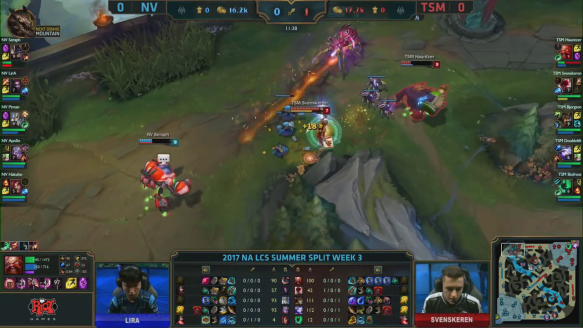 Team Nv vs. Team SoloMid - NA LCS Week 3 Day 3 Match Highlights
