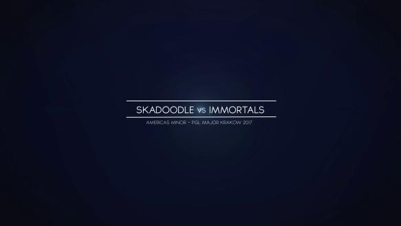 Skadoodle vs. Immortals - Americas Minor - PGL Major Krakow 2017