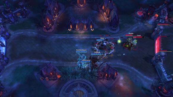Zeratul Kills His Teammate