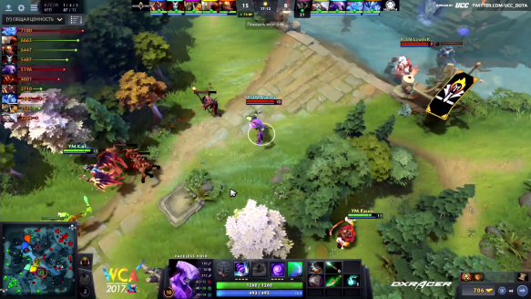 Young Minds vs. Execration - Five Frags