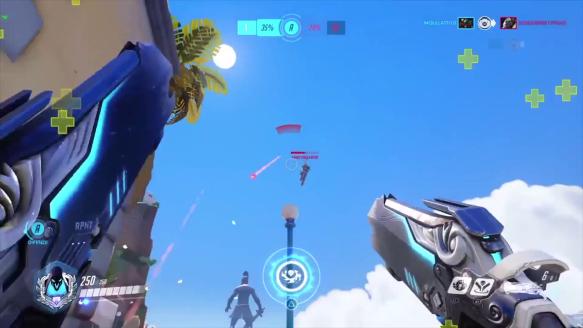 Winston Flys To Pharah
