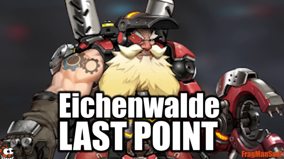 Epic Attack Torbjorn Payload Pushing with Reinhardt - Eichenwalde