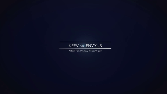 Keev vs. EnVyUs - Europe Minor - PGL Major Krakow 2017