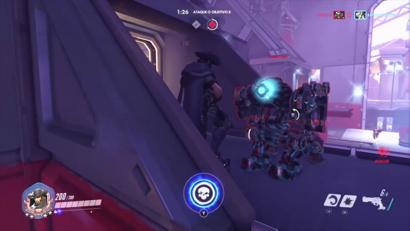 Mccree Dancing Behind Enemy Bastion