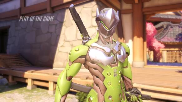Genji Makes Team Kill - by Ezrealmazrig