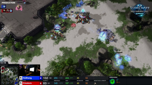 Creature vs. HuShang - Group Stage No. 3 - WCS Montreal