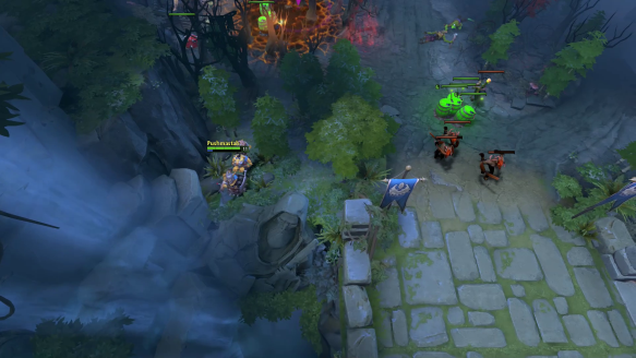 Invoker Has A Surprise For Techies, So Does Shadow Fiend