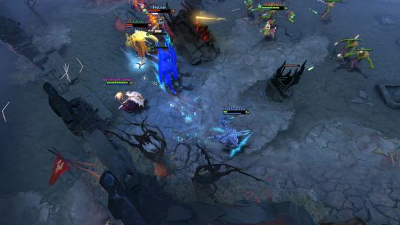 Terrorblade Assists Enchantress While Killing Medusa