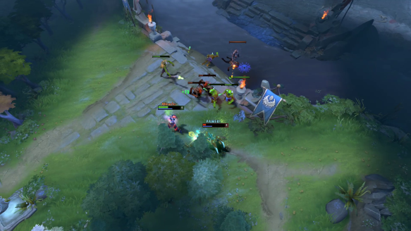 Windranger Pro Play And A Bit Of Luck