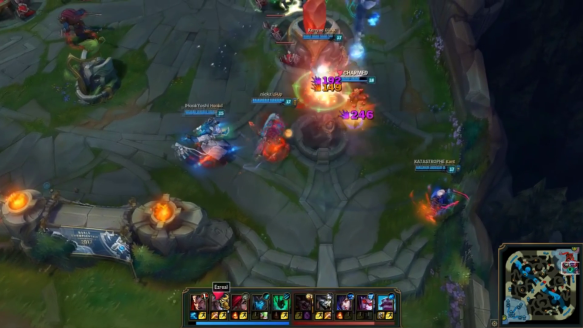 When Your Team Wants To Feed But You Want To Win