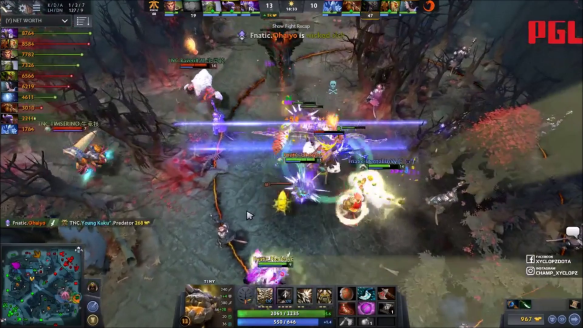 Forcestaff Save - Tnc Pro Team vs. Fnatic Game 1 - Perfect World Masters Sea Qualifier Winners' Finals