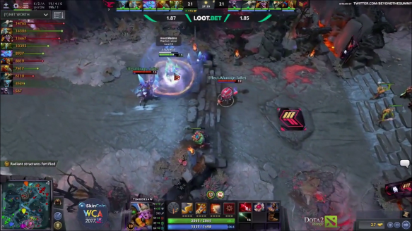 Madara The Riddler - Mousesports vs. Effect Game 2 - Wca Europe Qualifier