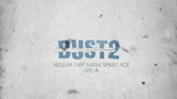 Heliumsnip M4a4 Spray Ace - Dust2 Dk Players Arena Highlight