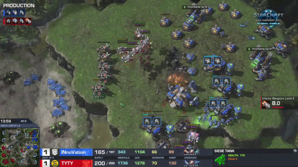 WCS - Match Point vs. Innovation