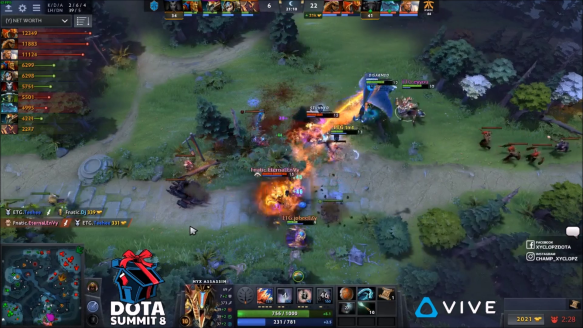 Lifestealer Rampage - Fnatic vs. Entity Gaming - Game 3 - DOTA Summit 8 SEA Qualifiers
