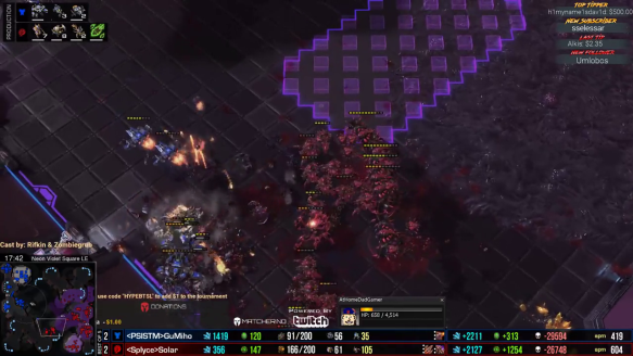 BaseTrade Star League - Solar Takes Out Gumiho's Army