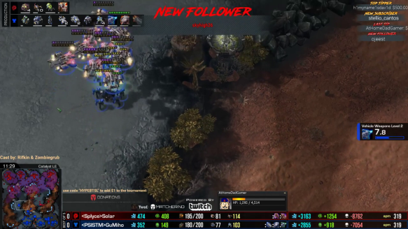 BaseTrade Star League - Solar Taking Game 1 vs. GuMiho With A Great Blinding Cloud