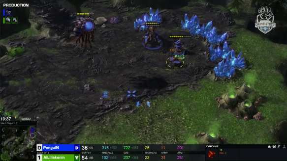 Ailillekanin vs. PenguiN - Game 2 - Go4SC2